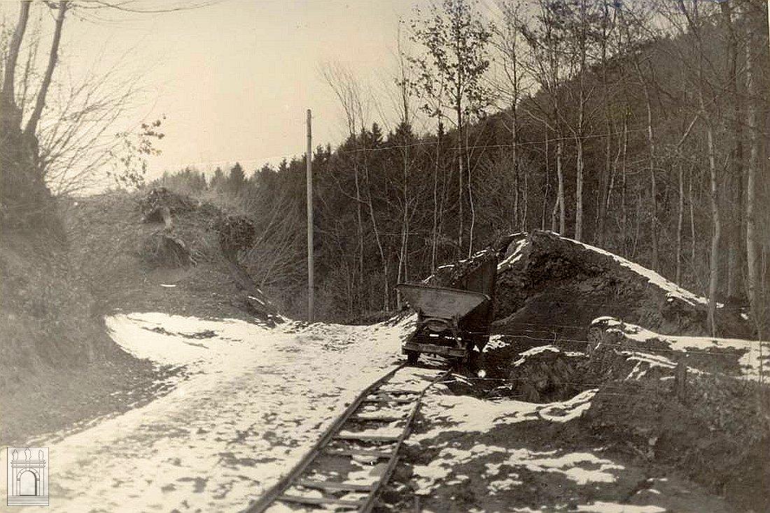 Wegbau nach Eichenberg 1933