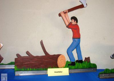 Motiv Holzfäller
