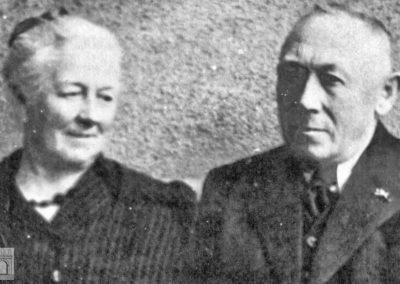 Maria Sauer (Bormann) und Sebastian Sauer