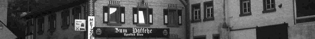 Gasthaus Pfäffche