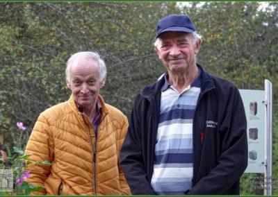 Die Feldgeschworenen Rudi Beckmann und Walter Zentgraf